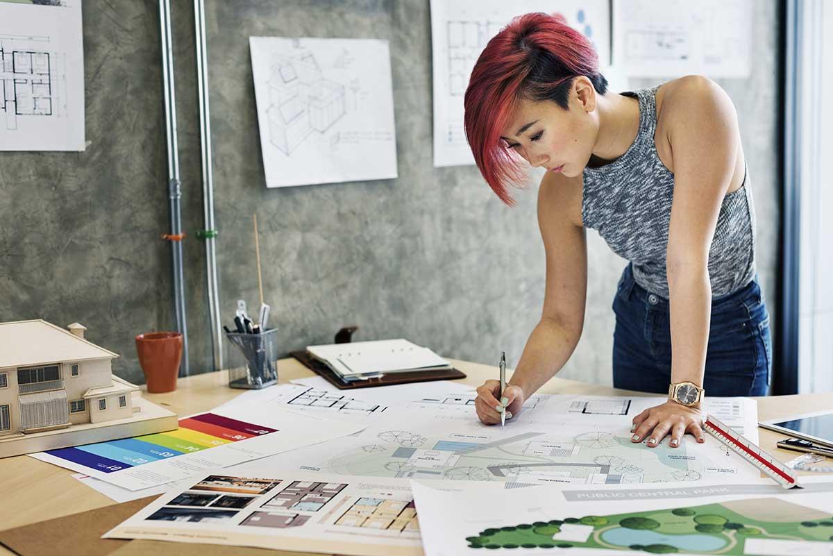 หางาน interior designer
